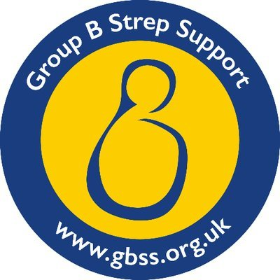 Group B Strep Support image with web address www.gbss.org.uk