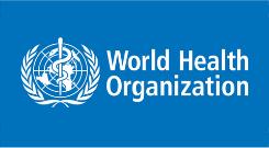 World Health Organisation logo.